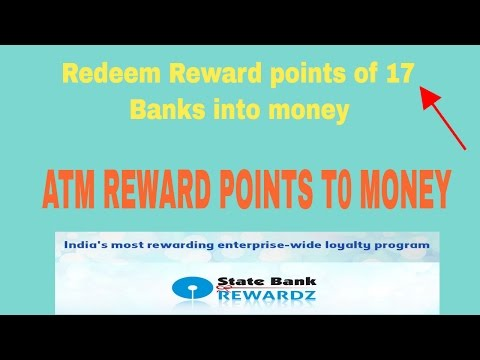 How to redeem reward point of ATM card of different banks and convert into money