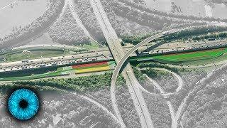 Hightech-Autobahn der Zukunft - Clixoom Science & Fiction