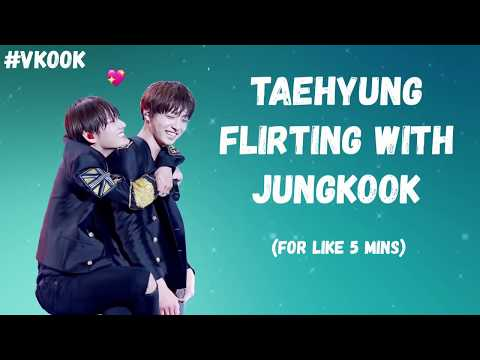 Taehyung Flirting With Jungkook For Like 5 Minutes