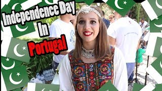 Pakistan Independence Day Celebrations In Portugal 14 Aug 2017 - Vlog 9 || NabeelOye ||