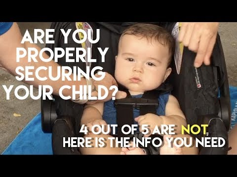 Infant Car Seats: Experts Show You How to Attach Your Child Properly