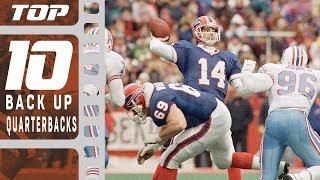 Top 10 Backup Quarterbacks! | NFL Films