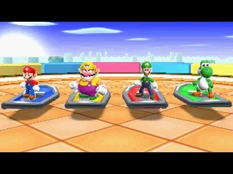 Mario Party Island Tour - All Mini Games