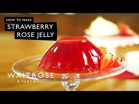 Strawberry Rose Jelly | Waitrose
