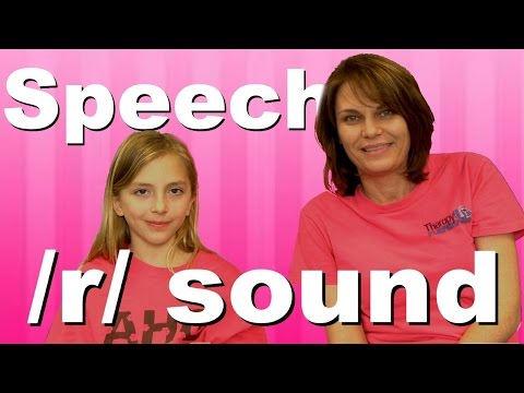 Speech Therapy: Eureka Approach with the /r/ sound