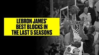 LeBron James Is Always At The Right Place At The Right Time