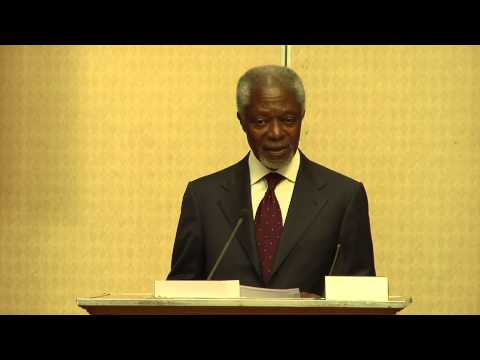 Civil society must pressure Africa's leaders to keep their promises, says Kofi Annan