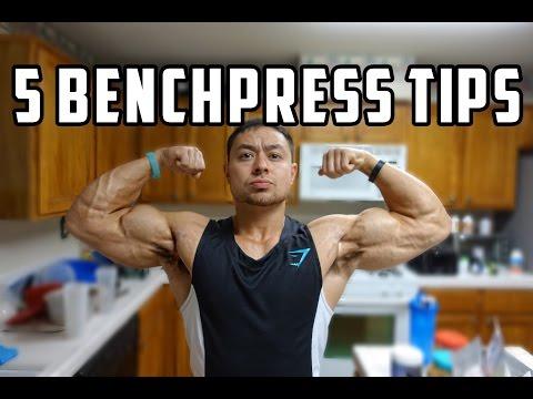 5 Benchpress Tips to Increase 1 RM
