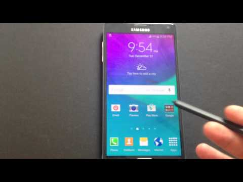 Samsung Note 4 Touch Screen Issue