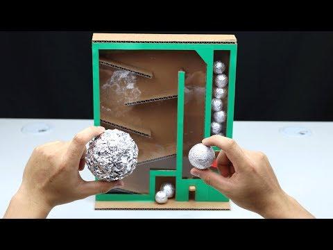 How to Make Japanese Foil Ball Vending Machine