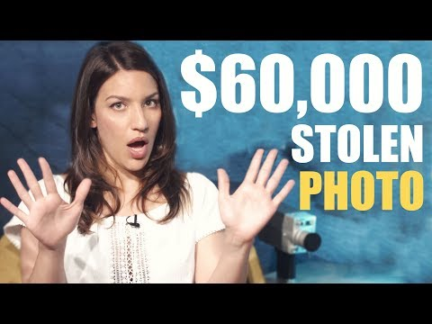 $60,000 for our stolen photo: We made a copyright thief PAY!