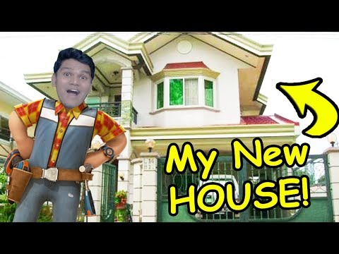 *NEW* My New JOB is to Buld a House  (LUXURY) - House Flipper Gameplay