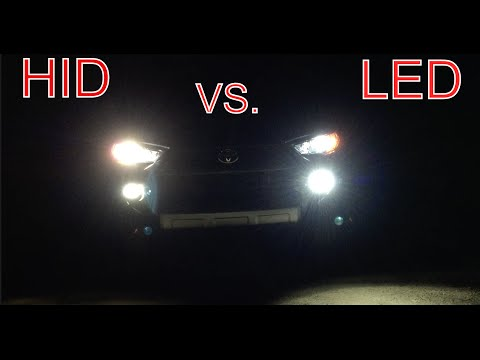 HID vs. LED -  Comparison and Preference