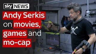 Swipe | Actor Andy Serkis & pro triathlete Ben Hoffman