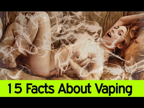 e-Cigarettes Explode! - 15 Facts About Vaping