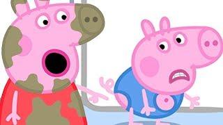 Peppa Pig English Episodes | Peppa Pig Loves Muddy Puddles | Peppa Pig Official