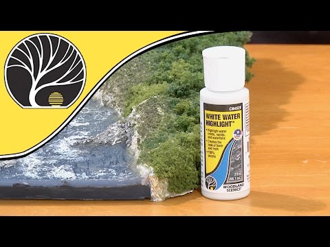 White Water Highlight™ | How to Use White Water Highlight | Woodland Scenics