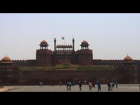 The Red Fort, Chandni Chowk , Lahori Gate, Moti Masjid, Khas Mahal Delhi القلعة الحمراء دلهي