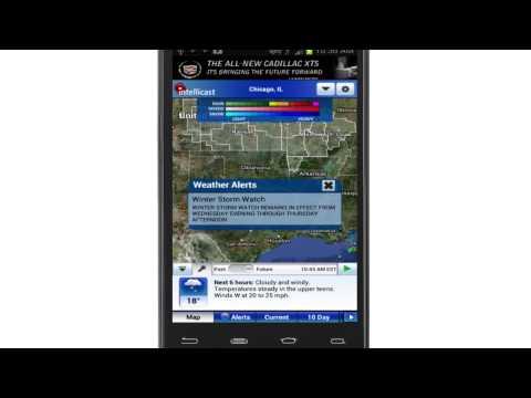 The All-New Intellicast Weather Android App
