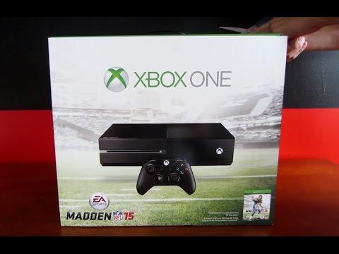 Madden Xbox One Bundle - Unboxing
