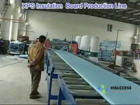 XPS production line, PS extrusion, Polystyrene board, extruded Polystyrene,