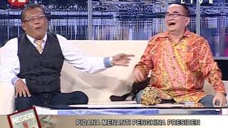 """Pendapat Eggi Sudjana :""""Presiden Pantas Dihina"""" Dilawan Oleh Ruhut Sitompul"""