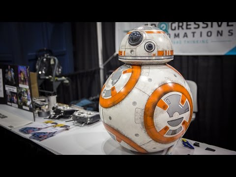 Making a Working BB-8 Droid Replica!