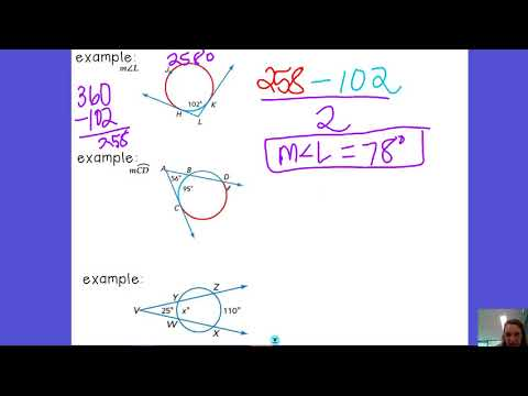 10.6 Secants or Tangents intersecting in the exterior