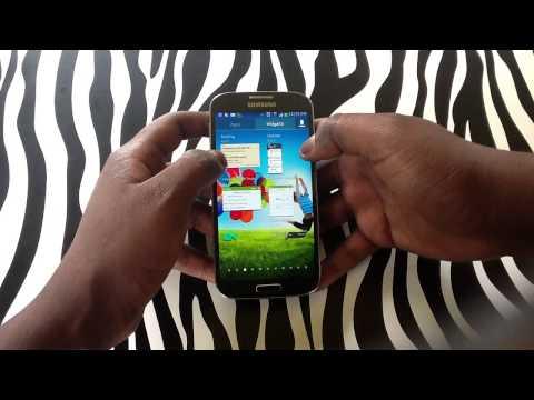 How to Use Widgets on Samsung Galaxy S4