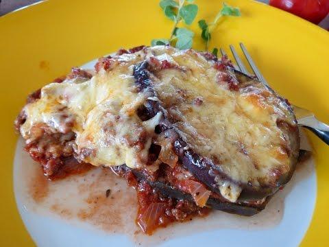 Eggplant Lasagna Recipe -- The Frugal Chef