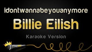 Download Billie Eilish - idontwannabeyouanymore (Karaoke Version) Video