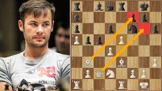 Engines Suck!   Insane Game Between Šarić & Maghsoodloo   Batumi Chess Olympiad (2018)