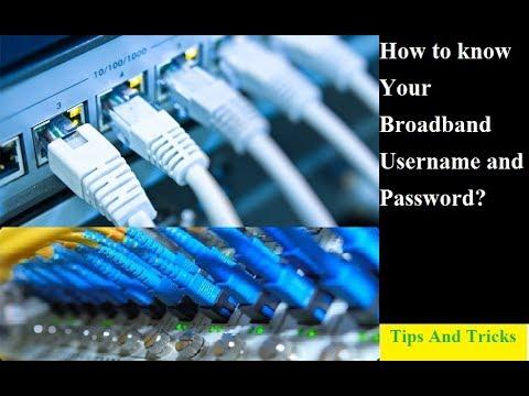 কিভাবে আপনি আপনার Broadband Internet এর Username এবং Password বের করবেন আজ-ই জেনে নিন।