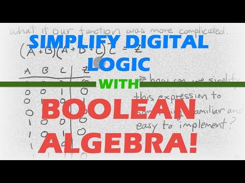 NUPOC VSG #105 - Simplify Digital Logic with Boolean Algebra!