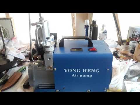 Air gun Pcp high pressure electric compressor YONG HENG