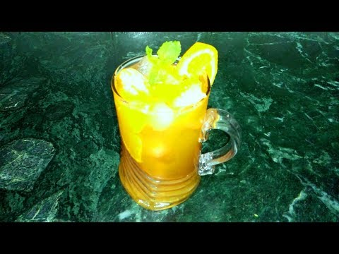 Orange Ice Tea || The Best Tea to Lose Weight Drink by Punjabi Cooking