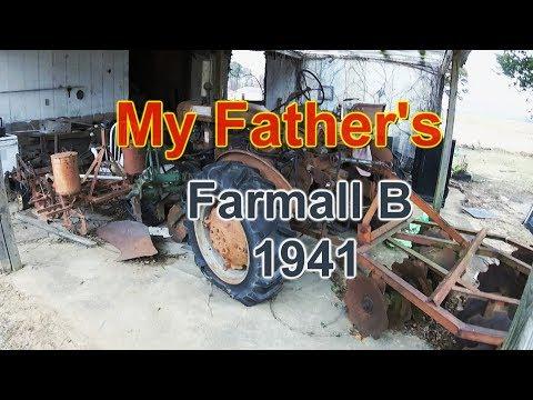My Father's 1947 Farmall B
