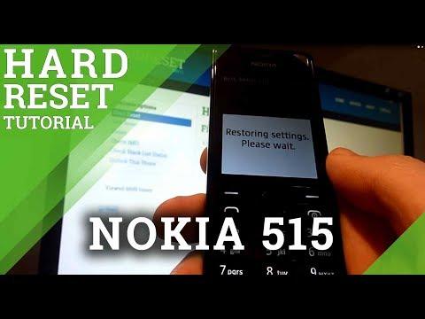 Hard Reset NOKIA 515 - Factory Reset Tutorial
