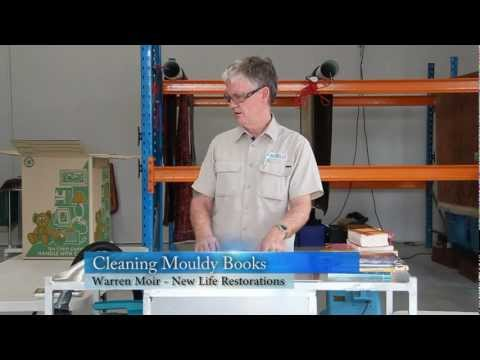 Library Mould Removal - How to Remove Mold from Books