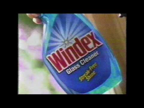 Windex commercial  (1995)