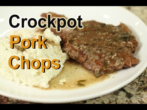 Crockpot Pork Chops - So Tender In A Slow Cooker by Rockin Robin