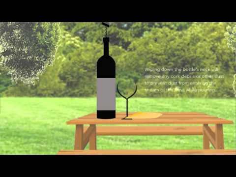 How To: Pour a Glass of Wine, Properly.