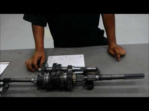 How to Calculate gear ratio within a manual transmission