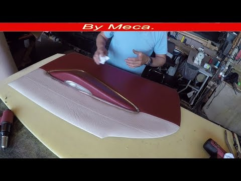 How to make Ford Galaxie Interior doors Panel. DIY.