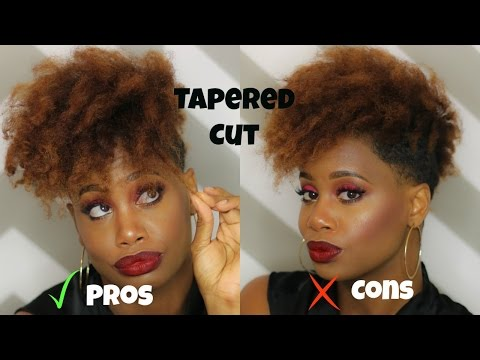 The Pros and Cons of a Tapered Hair Cut