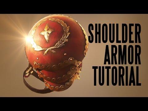 How to Make Shoulder Armor Tutorial Video