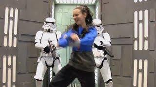 STAR WARS Style, Gangnam Style music video parody