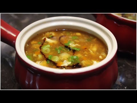 Hot And Sour Soup - Chicken Hot And Sour Soup - Easy Soup Recipe
