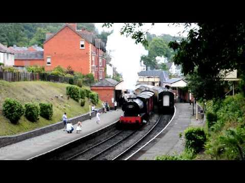 Llangollen Railway 60s gala, 30th July 2011. Hunslet 0-6-0ST, NCB 3777 as BR J94. Near-accident!