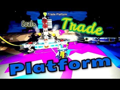 ASTRONEER: FIREWORKS! #16 Trade Platform = coal !!/unfair trade?
